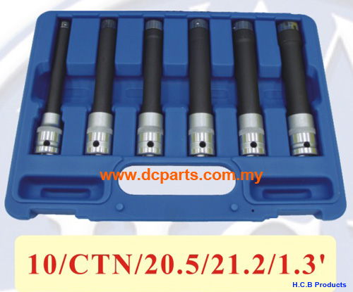 General Truck Repair Tools STAR-E SOCKET SET  Dr. 1/2